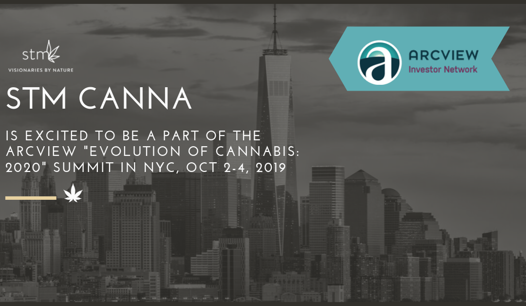STM Canna to Attend Arcview Summit in NYC